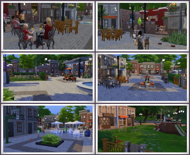 Street Cafe Willow Creek at Birksches Sims Blog image 2971 Sims 4 Updates