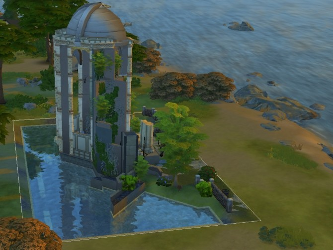 Sims 4 The Ruins 2 versions redux by Victor tor at Mod The Sims