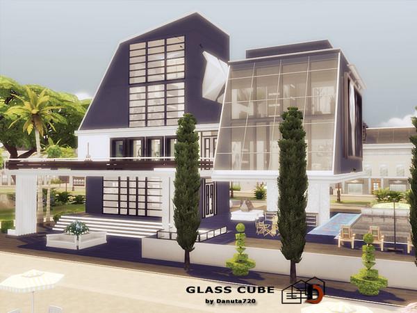Sims 4 Glass Cube by Danuta720 at TSR