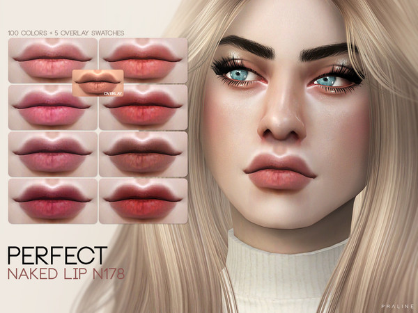 Sims 4 Lipstick Collection by Pralinesims at TSR