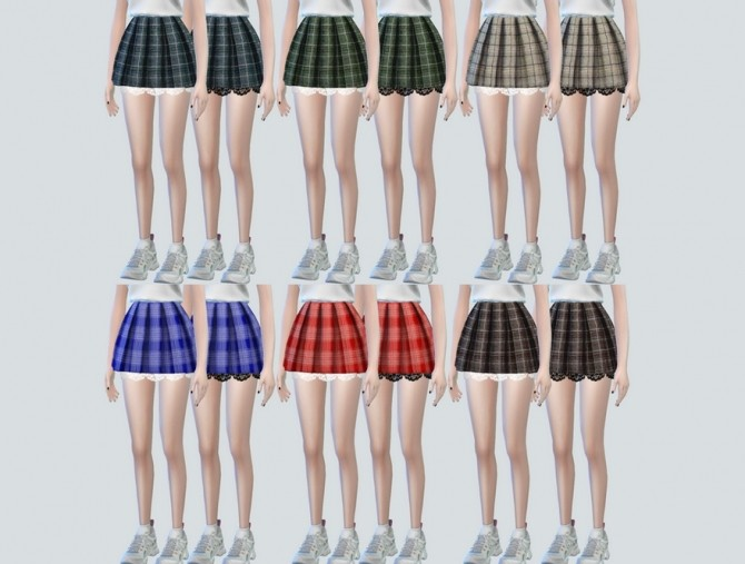 Lace Pleats Skirts at NEWEN image 3261 670x507 Sims 4 Updates