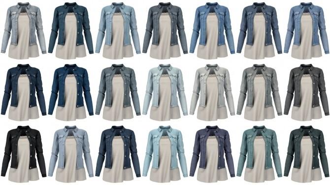 Denim jacket at LazyEyelids image 3315 670x376 Sims 4 Updates