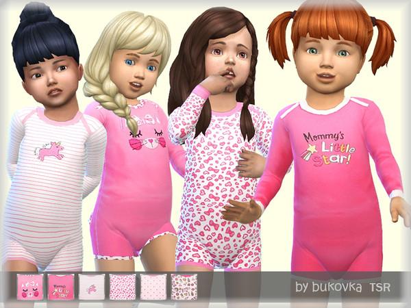 Sims 4 Kombidress Little Star by bukovka at TSR