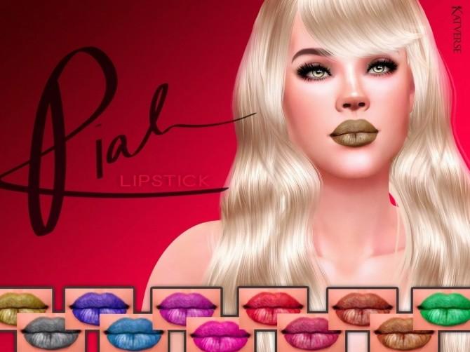 Sims 4 Riah Lipstick at Katverse