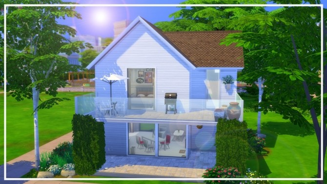 Sims 4 Tiny House at MODELSIMS4