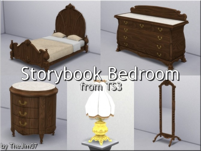 Sims 4 Storybook Bedroom by TheJim07 at Mod The Sims