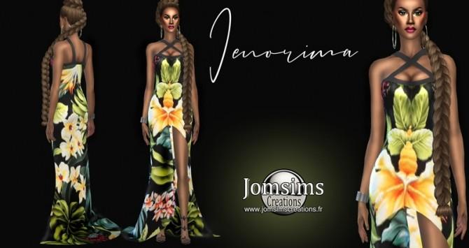 Lenorima dress at Jomsims Creations image 3601 670x355 Sims 4 Updates
