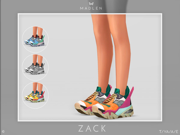 Madlen Zack Shoes By Mj95 At Tsr 187 Sims 4 Updates