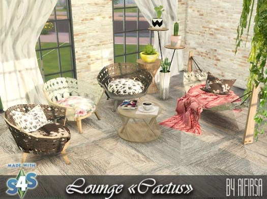Сactus Lounge at Aifirsa image 375 Sims 4 Updates