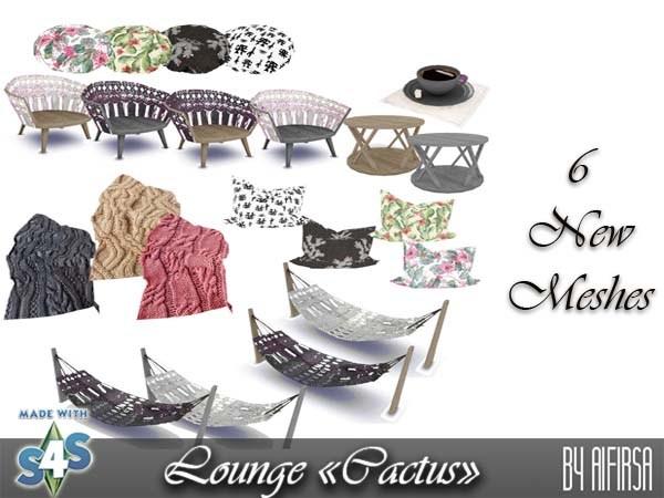 Сactus Lounge at Aifirsa image 386 Sims 4 Updates