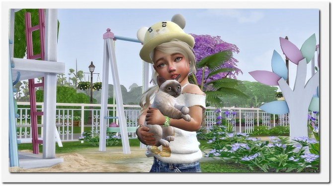 Sims 4 Designer Set for Toddler Girls at Sims4 Boutique