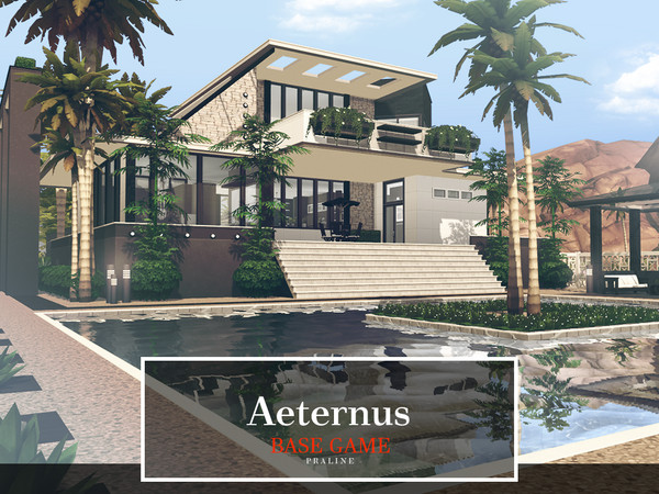 Aeternus house by Pralinesims at TSR image 403 Sims 4 Updates