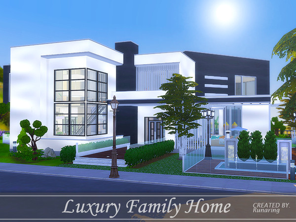 Luxury Family Home by Runaring at TSR image 4110 Sims 4 Updates