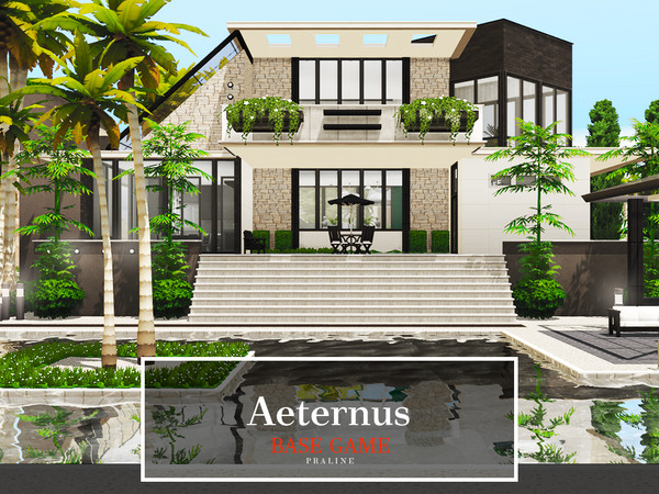 Aeternus house by Pralinesims at TSR image 415 Sims 4 Updates