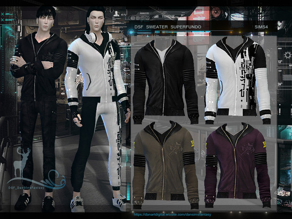Sims 4 DSF SWEATER SUPERFUNDO by DanSimsFantasy at TSR