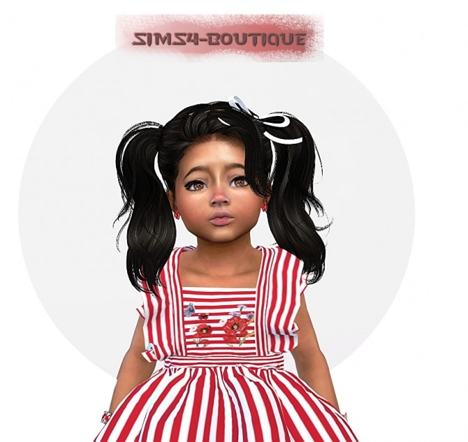 Designer Set for Toddler Girls TS4 at Sims4 Boutique image 4213 670x633 Sims 4 Updates
