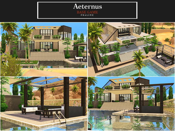 Aeternus house by Pralinesims at TSR image 423 Sims 4 Updates
