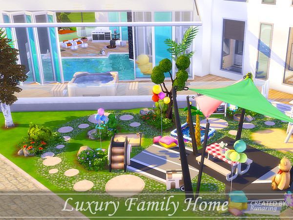 Luxury Family Home by Runaring at TSR image 428 Sims 4 Updates