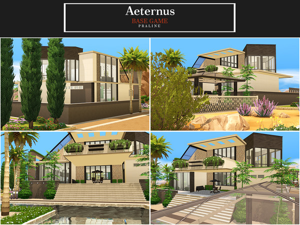 Aeternus house by Pralinesims at TSR image 433 Sims 4 Updates
