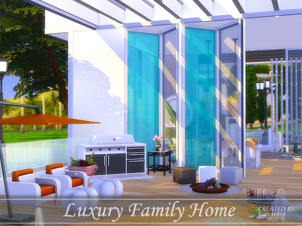 Sims 4 Luxury Family Home by Runaring at TSR