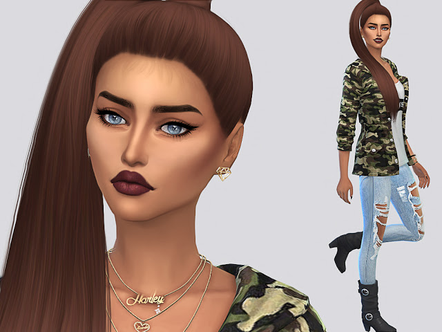 Jenna Crook at MSQ Sims image 4418 Sims 4 Updates