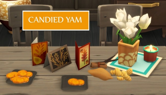 CANDIED YAM at Icemunmun image 442 670x384 Sims 4 Updates