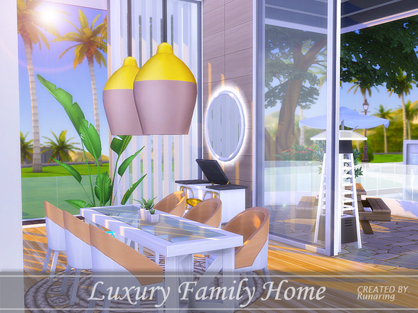 Luxury Family Home by Runaring at TSR image 447 Sims 4 Updates