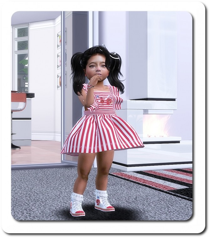 Sims 4 Designer Set for Toddler Girls TS4 at Sims4 Boutique