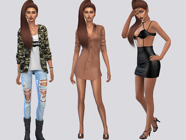 Sims 4 Jenna Crook at MSQ Sims