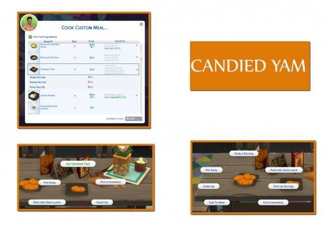 CANDIED YAM at Icemunmun image 452 670x469 Sims 4 Updates