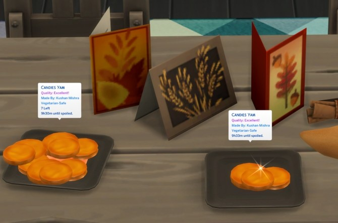 Sims 4 CANDIED YAM at Icemunmun