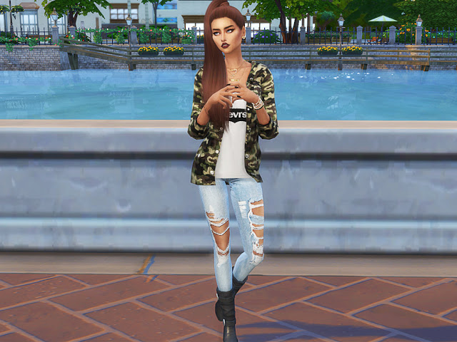 Jenna Crook at MSQ Sims image 4718 Sims 4 Updates