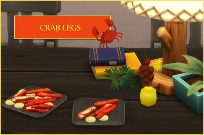 Crab Legs Food At Icemunmun 187 Sims 4 Updates