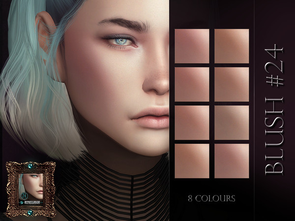 Blush 24 by RemusSirion at TSR image 473 Sims 4 Updates