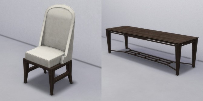 Modern Dining Table & Chair by TheJim07 at Mod The Sims image 4919 670x335 Sims 4 Updates