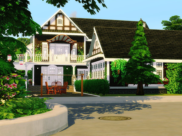 Cozy Family Villa by MychQQQ at TSR image 497 Sims 4 Updates