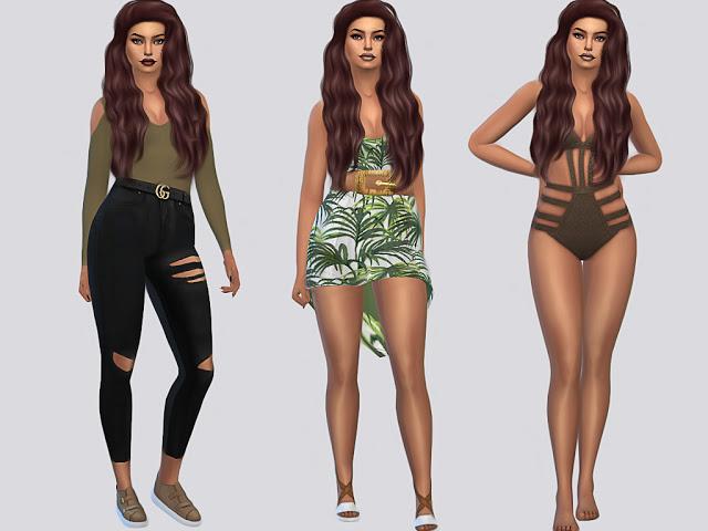 Sims 4 Maliyah Gallegos at MSQ Sims