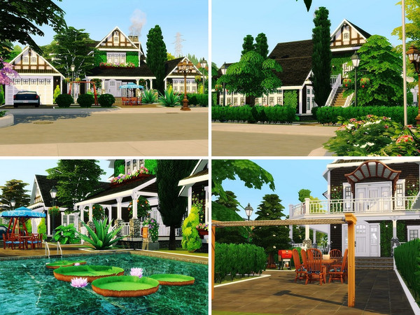 Cozy Family Villa by MychQQQ at TSR image 507 Sims 4 Updates