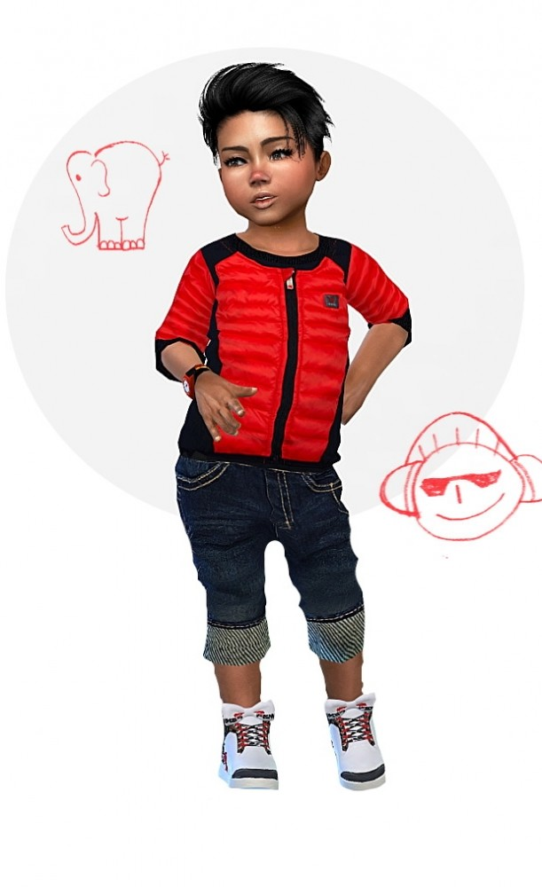 special sales performance sportswear new concept Designer Set for Toddler Boys at Sims4-Boutique » Sims 4 Updates