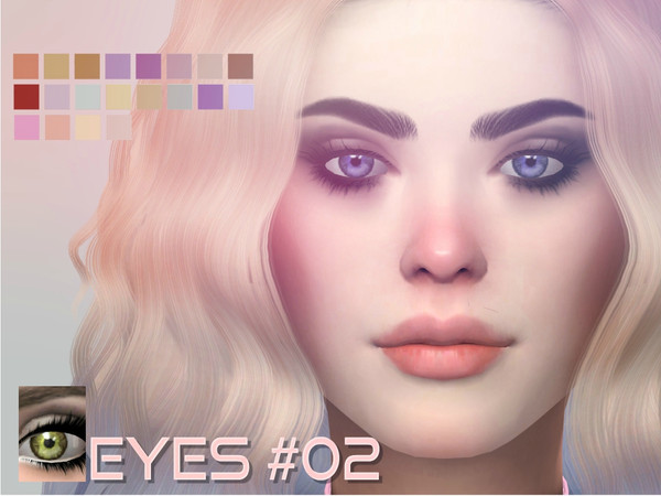 Sims 4 Stardust Simmer Eyes 02 by aesthetic sims4 at TSR