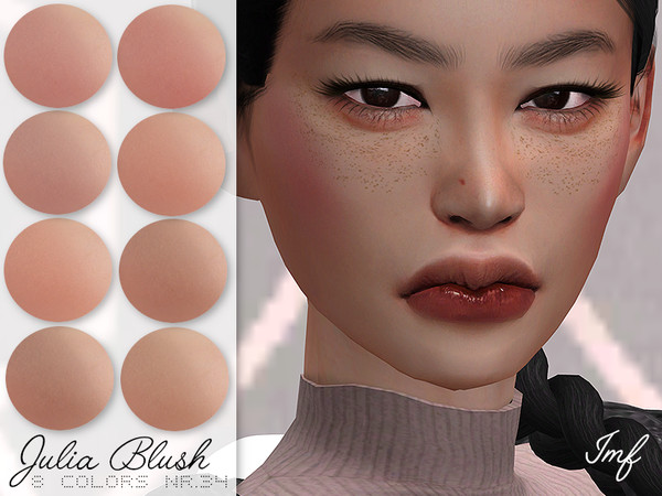 Sims 4 IMF Julia Blush N.34 by IzzieMcFire at TSR