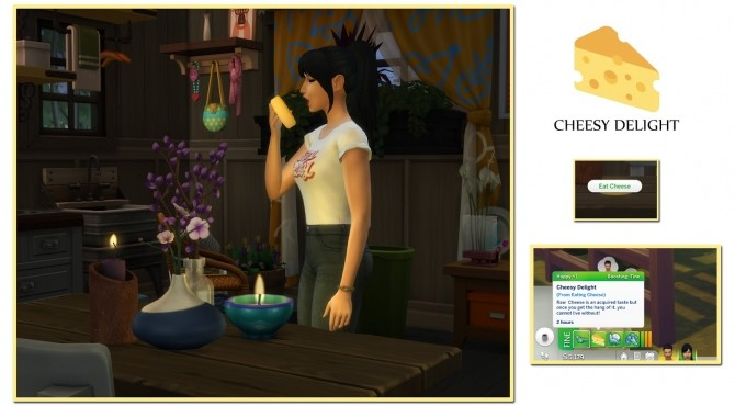 Sims 4 HARVESTABLE CHEESE at Icemunmun