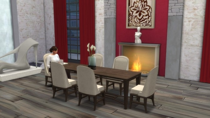 Modern Dining Table & Chair by TheJim07 at Mod The Sims image 5221 670x377 Sims 4 Updates