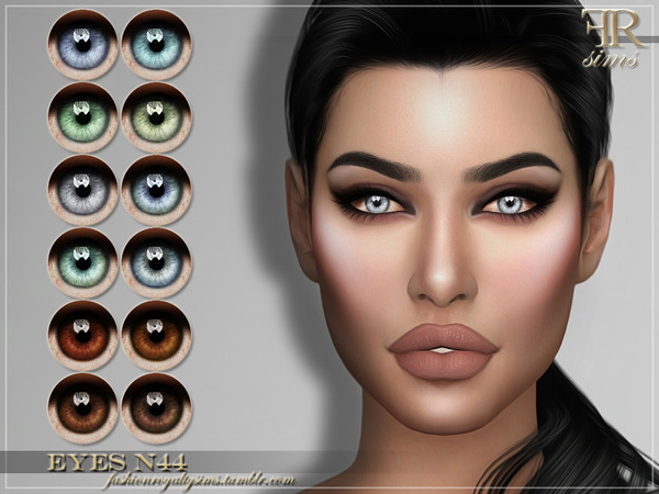 FRS Eyes N44 by FashionRoyaltySims at TSR image 528 Sims 4 Updates