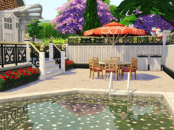 Selena house by MychQQQ at TSR image 560 Sims 4 Updates