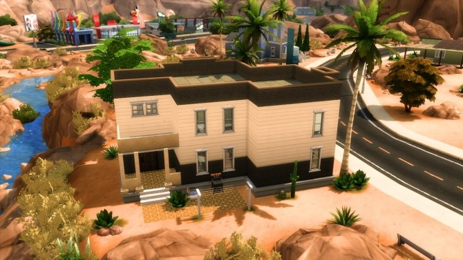 Modern in desert by iSandor at Mod The Sims image 5717 670x377 Sims 4 Updates