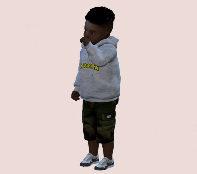 Sims 4 Cargo Pants (4 pockets) at Weile