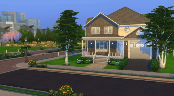 Sims 4 Family Acres home by PolarBearSims at Mod The Sims