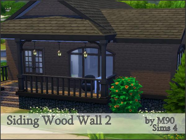 M90 Siding Wood Wall 2 by Mircia90 at TSR image 6 Sims 4 Updates