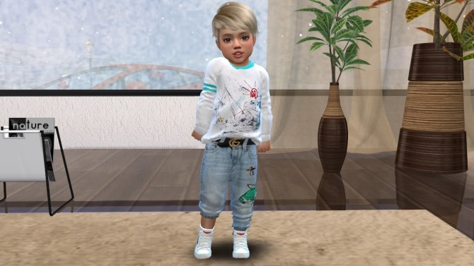 Little Emilio at Sims World by Denver image 606 670x377 Sims 4 Updates